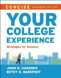 Your College Experience: Strategies for Success  2014 edition cover
