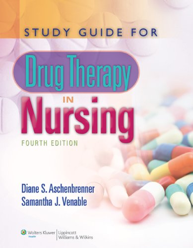 Drug Therapy in Nursing  4th 2012 edition cover