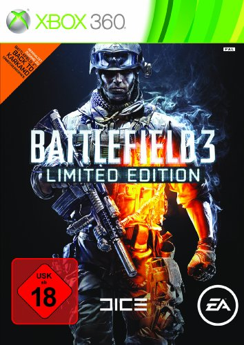 BATTLEFIELD 3 - LIMITED EDITION Xbox 360 artwork