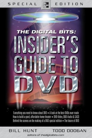 Digital Bits Insider's Guide to DVD   2004 9780071418522 Front Cover