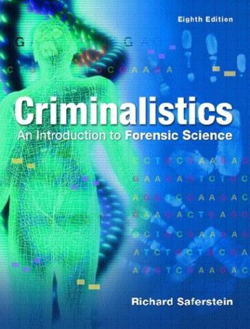 Criminalistics An Introduction to Forensic Science 8th 2004 (Revised) edition cover