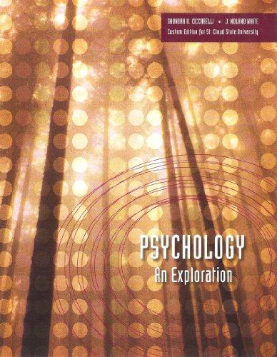 Psychology An Exploration, Books a la Carte Edition 2nd 2013 edition cover