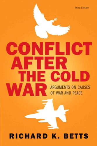 Conflict after the Cold War Arguments on Causes of War and Peace 3rd 2008 edition cover