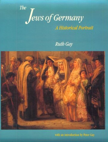 Jews of Germany A Historical Portrait  1992 edition cover