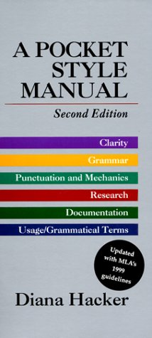 Pocket Style Manual 2nd 1997 edition cover