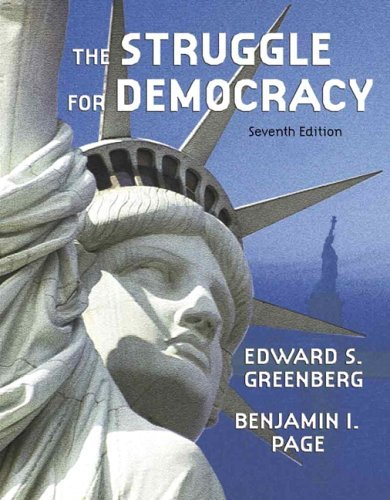 Struggle for Democracy Hardcover  7th 2005 9780321243522 Front Cover