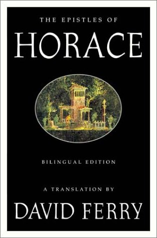 Epistles of Horace Bilingual Edition N/A edition cover