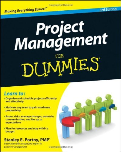 Project Management for Dummies  3rd 2010 edition cover