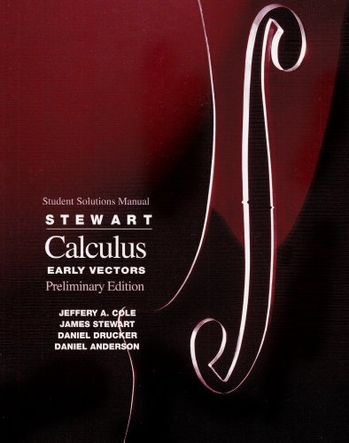 Calculus Early Vectors 3rd 1999 edition cover