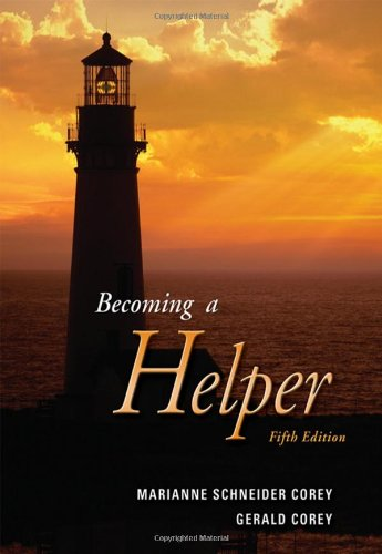 Becoming a Helper  5th 2007 edition cover