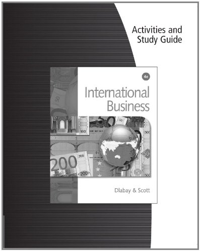 International Business  4th 2011 (Guide (Pupil's)) 9780538450522 Front Cover