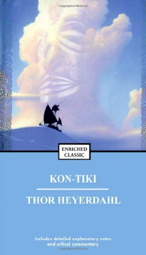 Kon-Tiki Across the Pacific by Raft 35th 1984 (Reprint) edition cover