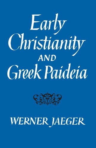 Early Christianity and Greek Paidea   1961 edition cover