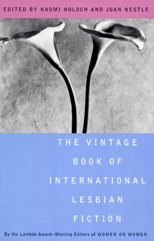 Vintage Book of International Lesbian Fiction   1999 edition cover