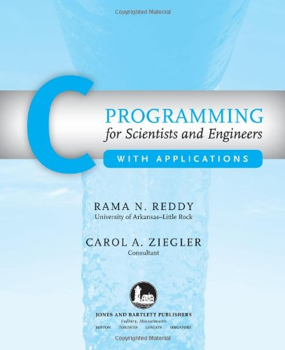 C Programming for Scientists and Engineers with Applications   2010 edition cover