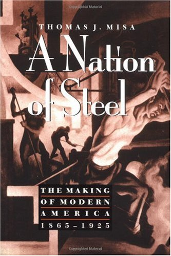 Nation of Steel The Making of Modern America, 1865-1925  1995 edition cover