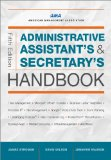 Administrative Assistant's and Secretary's Handbook  5th 2014 edition cover