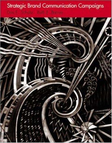 Strategic Brand Communication Campaigns  5th 2000 edition cover