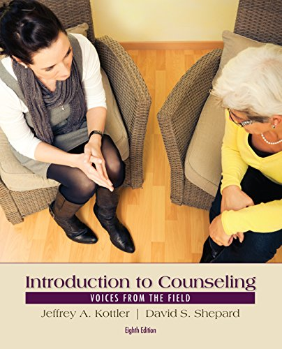 Bundle: Introduction to Counseling: Voices from the Field, 8th + CourseMate Printed Access Card Introduction to Counseling: Voices from the Field, 8th + CourseMate Printed Access Card 8th 2015 9781285993522 Front Cover