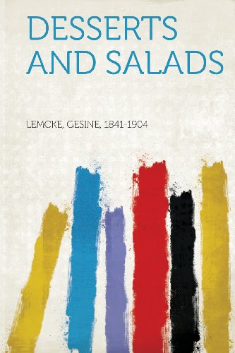 Desserts and Salads  0 edition cover