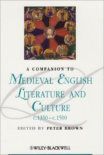 Companion to Medieval English Literature and Culture C. 1350 - C. 1500   2010 edition cover