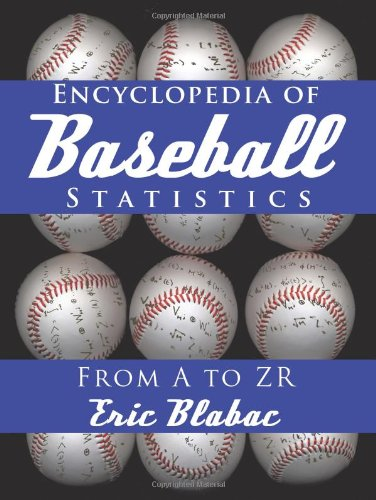 Encyclopedia of Baseball Statistics From A to ZR  2010 edition cover