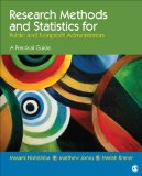 Research Methods and Statistics for Public and Nonprofit Administrators A Practical Guide  2014 edition cover