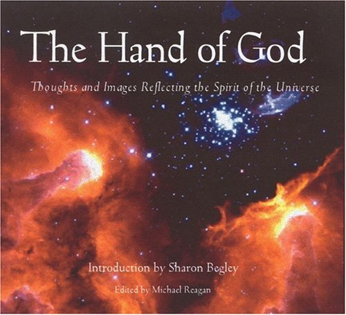 Hand of God Thoughts and Images Reflecting the Spirit of the Universe  2001 edition cover