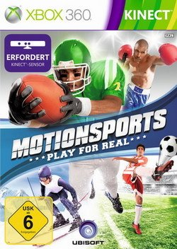 MotionSports: Play for Real (Kinect) Xbox 360 artwork
