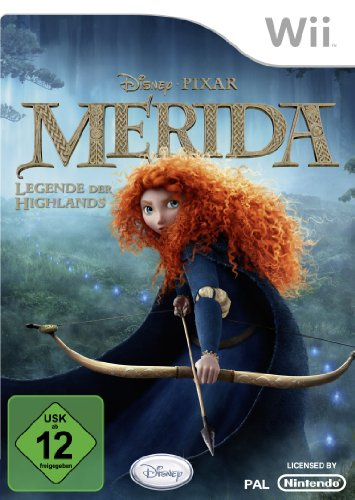 Merida - Legende der Highlands Nintendo Wii artwork