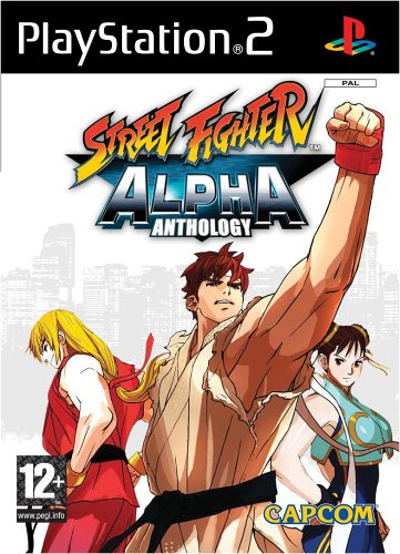 Street Fighter Alpha Anthology (PS2) by Capcom PlayStation2 artwork