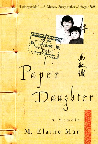Paper Daughter A Memoir  2000 9780060930523 Front Cover