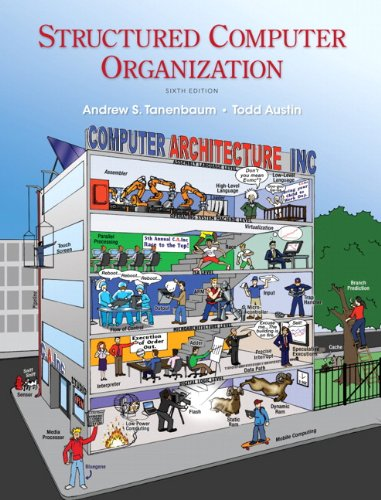 Structured Computer Organization  6th 2013 (Revised) edition cover
