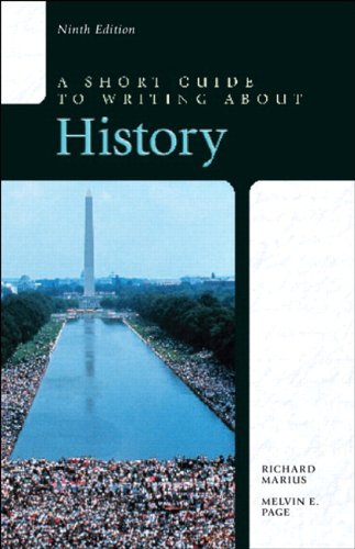 Short Guide to Writing about History with NEW MyWritingLab-- Access Card Package  9th 2015 9780133795523 Front Cover