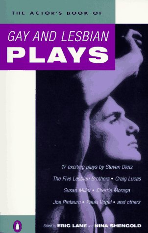 Actor's Book of Gay and Lesbian Plays  N/A 9780140245523 Front Cover