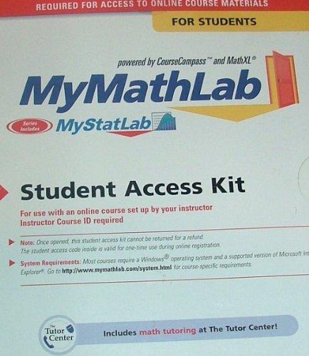 Mymathlab  6th 2012 edition cover