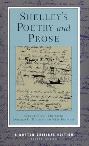 Shelley's Poetry and Prose  2nd 2001 edition cover