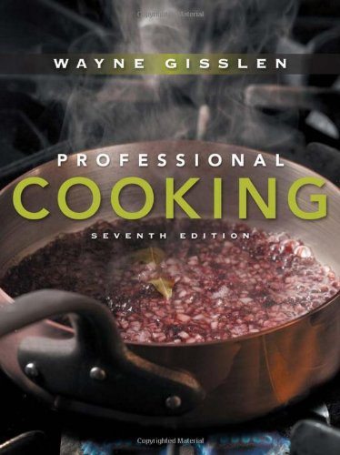 Professional Cooking  7th 2011 edition cover
