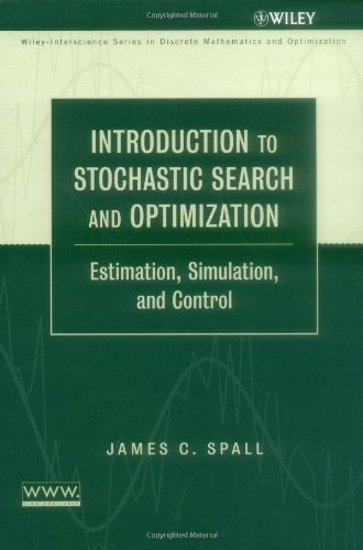 Introduction to Stochastic Search and Optimization Estimation, Simulation, and Control  2003 edition cover