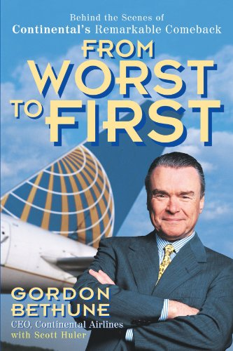 From Worst to First Behind the Scenes of Continental's Remarkable Comeback  1998 edition cover