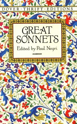 Great Sonnets   1994 edition cover