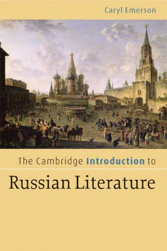 Cambridge Introduction to Russian Literature   2008 edition cover