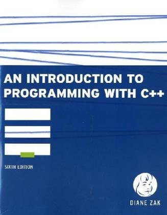 Introduction to Programming with C++  6th 2011 9780538466523 Front Cover