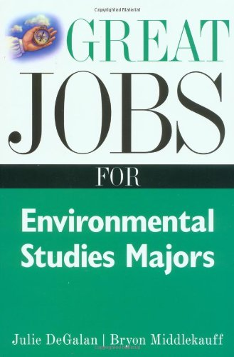 Great Jobs for Environmental Studies Majors   2001 9780658016523 Front Cover