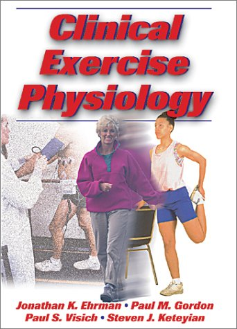 Clinical Exercise Physiology   2003 edition cover