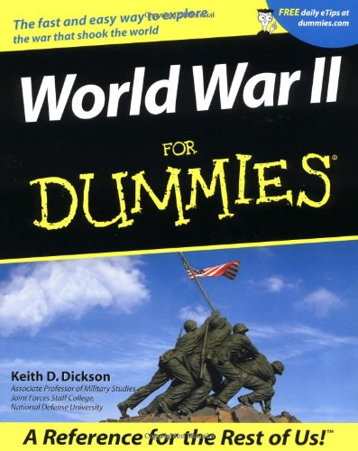 World War II for Dummies   2001 edition cover