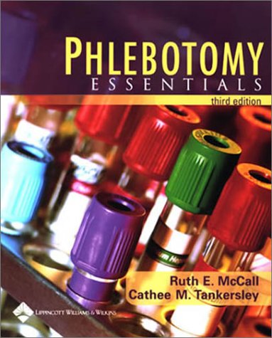 Phlebotomy Essentials  3rd 2003 (Revised) edition cover
