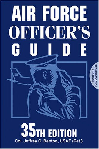 Air Force Officer's Guide  35th 2008 edition cover