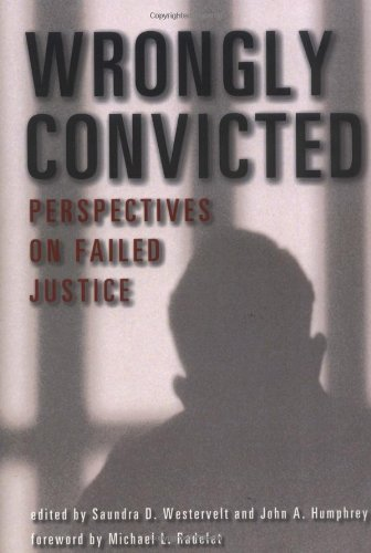 Wrongly Convicted Perspectives on Failed Justice  2001 edition cover