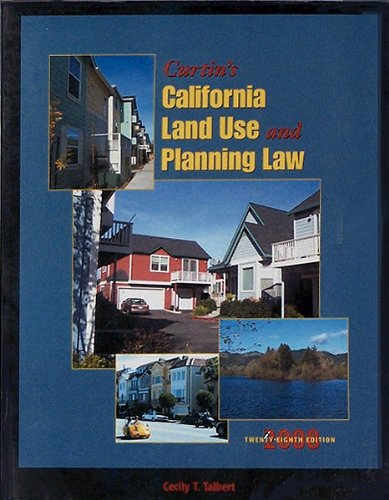 California Land Use and Planning Law  2008 edition cover